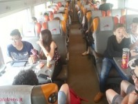 Diario di viaggio. A Milano oltre 320 studenti degli istituti agrari del Lazio: la partenza