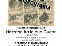 """Apertura Straordinaria Mostra """"Nazzano tra le due Guerre"""" 1915-1945"""