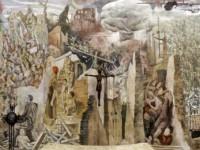"""50° Anniversario del """"Murale della pace"""" di Borgo Ferrovia, l'opera del Maestro Ettore De Conciliis"""