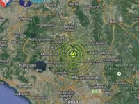 Scossa di terremoto di Ml 2.2 nella zona di S.Oreste, a nord di Roma