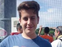 Alessio Talocci dell'IPSARS di Passo Corese campione italiano di getto del peso