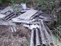 Discariche di eternit: allarme a Monterotondo