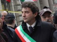 WCENTER 0TLDCIPHGA Yara Nardi Ag. Toiati Prefettura. Protesta contro i campi rom. Nella foto Bernardoni Stefoni e Commissari
