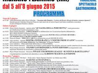 Sagra della porchetta a Rignano Flaminio 5 – 8 giugno 2015