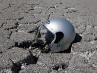 Salaria, cade con la moto uomo ferito gravemente
