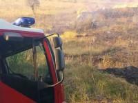 Rieti, vasto incendio in area verde in Sabina