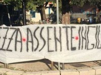 Rieti, protesta degli studenti dopo l'incendio al bus Cotral