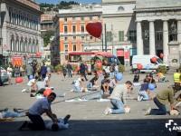 Eroi senza superpoteri: il flash mob europeo del soccorso
