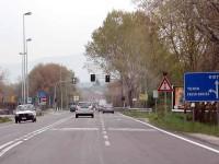 Salaria, al bivio di Passo Corese rotatoria al posto del semaforo