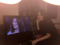 Sanremo 2016: Sabrina Ferilli entusiasta dell'imitazione di Virginia Raffaele