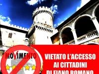 I 5 Stelle di Fiano Romano non potranno utilizzare la sala del Castello
