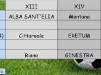 Calcio I categoria. Fiano-Salto Cicolano, le ultime tre gare che decideranno il salto diretto in Promozione