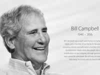 "È morto Bill Campbell, fu il ""coach"" di Steve Jobs"