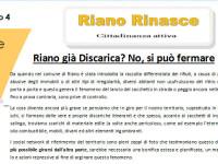 Riano Rinasce – Aprile 2016 #discarica #PUCG #DUP #LED #Scuola