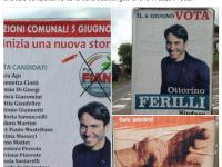 """""""Noi con Salvini Fiano Romano Originale"""" ritiene abusivi i manifesti del sindaco Ottorino Ferilli"""