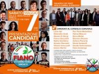"""Presentazione lista """"Per Fiano"""" per il comune di Fiano Romano"""