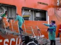 Palermo, sbarca una nave norvegese: ci sono anche 17 cadaveri