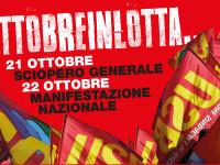 Blocchi dalla logistica alle metropoli: è sciopero generale. Oggi il «No Renzi Day» a Roma