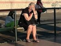 Passo Corese, in attesa del bus sotto il sole e senza una panchina