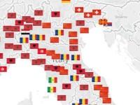 Mappa delle imprese di immigrati in Italia. In nove città gli albanesi sono in cima alla lista