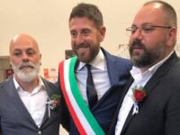 Nicola Santarelli celebra la prima Unione civile a Fiano Romano