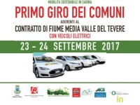 Mobilità sostenibile in Sabina, alla scoperta della media valle del Tevere