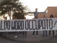 La destra a fianco degli studenti che occupano l'Aldo Moro