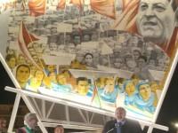 Di Vittorio vive! Ecco il murale del grande sindacalista, Cerignola in festa
