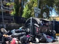 Buio pesto, immondizia e rovistaggio: a Saxa Rubra regna l'abbandono