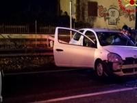 Settebagni, incidente su via Salaria: ferita gravemente una donna