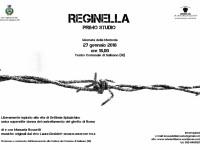 """Debutta """"Reginella"""" per la giornata della Memoria al comune di Salisano (RI)"""