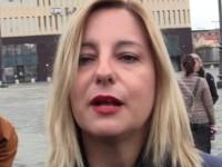 La deputata 5 stelle Roberta Lombardi in tour nel reatino