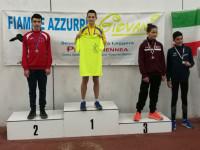 Fiano Romano. Luca Abadelli campione regionale salto lungo