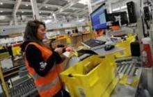 Operatore, operatrice di magazzino Amazon a Passo Corese