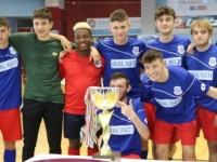 Rieti, Luigi di Savoia e Aldo Moro conquistano il titolo provinciale studentesco di calcio a 5