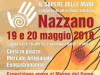 19 e 20 maggio 2018 due giorni di condivisione di Saperi d'artigianato a Nazzano (RM)