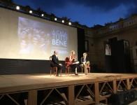 L'attrice Carolina Crescentini sul palco del Festival Lo schermo è donna a Fiano Romano (FOTO FRANCESCO GALLO/ANSA)