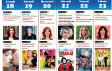 """Dal 18 al 23 giugno 2018 """"Lo schermo è donna"""" a Fiano Romano"""