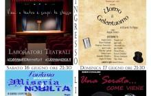 Festival del Teatro a Fiano Romano dal 12 al 17 giugno 2018