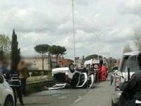 Scontro mortale tra due auto: perde la vita un 27enne di Monterotondo