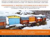 Primo convegno di apicoltura montana ed esposizione entomologico-botanica
