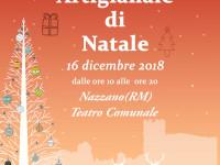 Mostra Mercato Artigianato di Natale 2018 a Nazzano (RM)