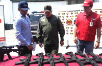 Venezuela accuses U.S. of secretly shipping arms after weapons found on plane with possible CIA ties