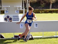 Alessandra Frezza di Passo Corese Campionessa Italiana di Pentathlon Moderno