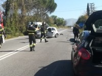 Moto contro auto a Rieti: morto un romano di 50 anni, chiusa la Salaria