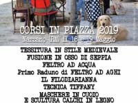 Corsi in Piazza 18 e 19 Maggio 2019 a Nazzano (RM)