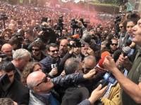 """È il sabato """"caldo"""" di Monterotondo: gazebo di Casapound e contromanifestazione antifascista"""