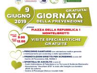 Montelibretti: prevenzione sanitaria il 9 giugno con visite specialistiche