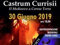"""""""Castrum Currisii"""" il 30 giugn0 2019 a Corese Terra"""