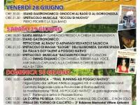 Il viale dell'Estate. Memorial Vittore Antonini 2019 – II edizione a Poggio Nativo (Ri)